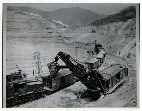 Tribune file photo  The Utah Copper Company, now known as Kennecott, is seen in this 1937 photo.