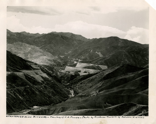 Tribune file photo  The Utah Copper Company, now known as Kennecott, is seen in this undated photo.