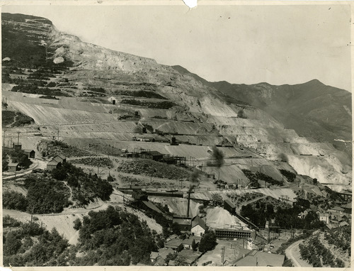 Tribune file photo  The Utah Copper Company, now known as Kennecott, is seen in this 1934 photo.