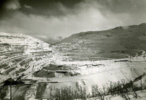 Tribune file photo  The Utah Copper Company, now known as Kennecott, is seen in this 1952 photo.