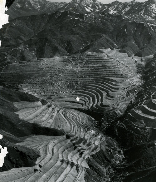 Tribune file photo  The Utah Copper Company, now known as Kennecott, is seen in this 1941 photo.