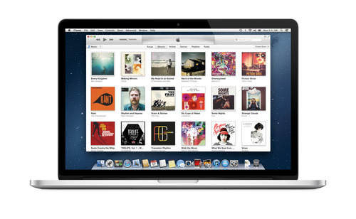 (AP Photo/iTunes) The iTunes Music Store is not only not only music's biggest retailer, it also dominates the digital video market, capturing 67 percent of the TV show sale market and 65 percent of the movie sale market.