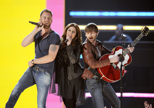 (Photo by Chris Pizzello/Invision/AP, file) Lady Antebellum's entire career has been in the iTunes era, and it's a key part of the band's sales.