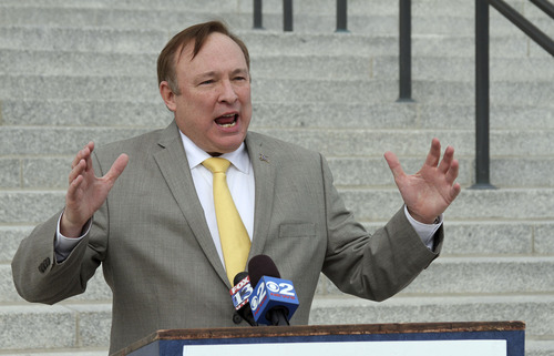 Francisco Kjolseth     Tribune file photo Utah State Democratic Party Chair Jim Dabakis called a court ruling Tuesday a victory for public access to information and accountability. Third District Judge L.A. Dever said the Utah Legislature should pay attorneys fees for Democrats in their lawsuit against excessive fees being charged for release of public records -- in this case thousands of pages of redistricting records.