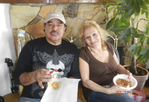 Ralph Salazar and Alice Griego were found shot to death and burned inside Salazar's home in Granite on Dec. 14. Police are investigating the case as a homicide. Family members described the couple as hard-working people who were very happy together.