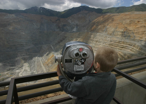 Tribune file photo The Bingham Canyon Mine Visitor Center, whose access-fee revenue was donated to charities, is closed for the year due to the massive April 10 landslide. Kennecott, however, has committed to continue the donations, matching last year's donation total of $211,000.