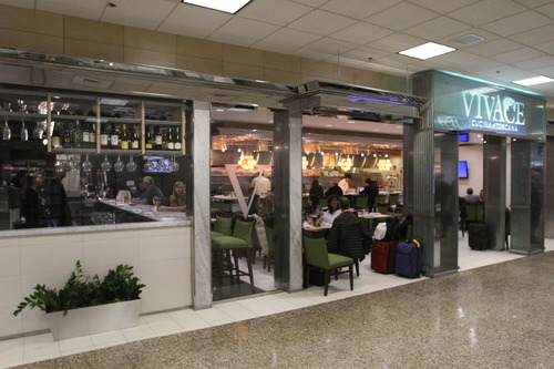 Rick Egan  | The Salt Lake Tribune  The  Vivace Cucina Toscana is among restarants and conessions that have been added to Salt Lake City International Airport in the past six months.