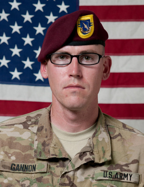 Spc. David M. Gannon, 34, of West Jordan, was found unresponsive in his barracks room at Fort Bragg in North Carolina. He later died. The investigation into his death is continuing. Photo courtesy of Fort Bragg Army Base.