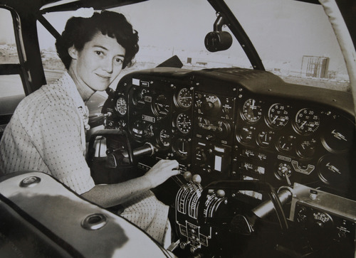 Courtesy of Betty Miller In 1963, Betty Miller became the first woman to fly solo across the Pacific Ocean. This month marks the 50th anniversary of the  historic flight.