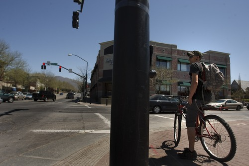 Leah Hogsten     The Salt Lake Tribune 2100 South looking east from the intersection of 1100 East/Highland Drive, Thursday, May 2, 2013.