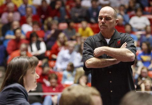 Trent Nelson     Tribune file photo Utah coach Greg Marsden