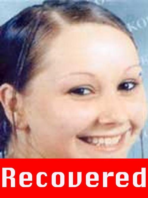 """This image provided by the FBI shows the updated """"Missing Person"""" poster for Amanda Berry. A frantic phone call Monday, May 6, 2013,  led police to a house near downtown Cleveland where Berry and two other women who vanished about a decade ago were found Monday, exhilarating law enforcement authorities, family members and friends who had longed to see them again (AP Photo/FBI)"""