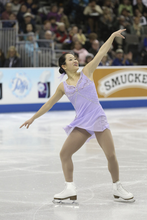 Salt Lake City's Angela Wang moved to Colorado Springs from Salt Lake City so she could get more intensive training. She finished ninth at recent U.S. Championships. Photo courtesy Jay Adeff/U.S. Figure Skating