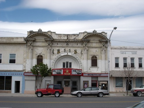 Casino Star Theater Foundation will be honored this week by the Utah Heritage Foundation for its restoration of the Casino Star Theater, Gunnison. The Theatre is show here before the work began. Courtesy Utah Heritage Foundation