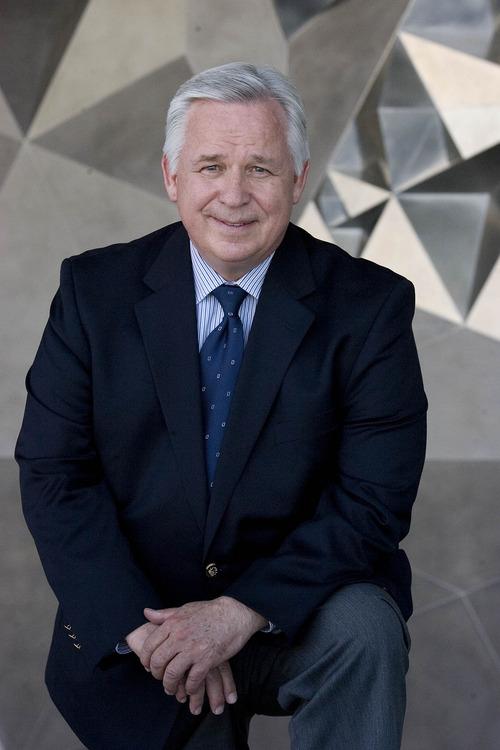 Paul Fraughton     The Salt Lake Tribune Craig Jessop of Utah State University, this year's Madeleine Award honoree.                                                      Tuesday, April 23, 2013
