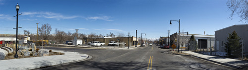 Courtesy | Envision Utah Magna's historic Main Street (2700 South) will be spruced up, funded by a federal grant, which will include street lights, curbs, gutters and sidewalks from 8800 West eastward to about 8300 West. A key to reshaping Main Street is a survey, conducted last fall in which residents discussed their vision for the beloved thoroughfare. Community members and planners hope to return historic Main Street to its glory days.