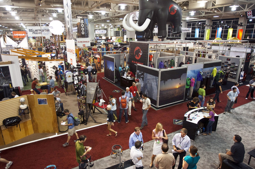 Chris Detrick     Tribune file photo The summer and winter Outdoor Retailer shows represent Salt Lake City's largest conventions, drawing an estimated 45,000 people and contributing $40 million to Utah's economy.