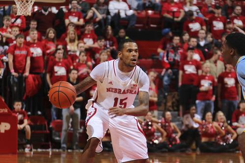 Nebraska basketball player Ray Gallegos. Courtesy | Scott Bruhn