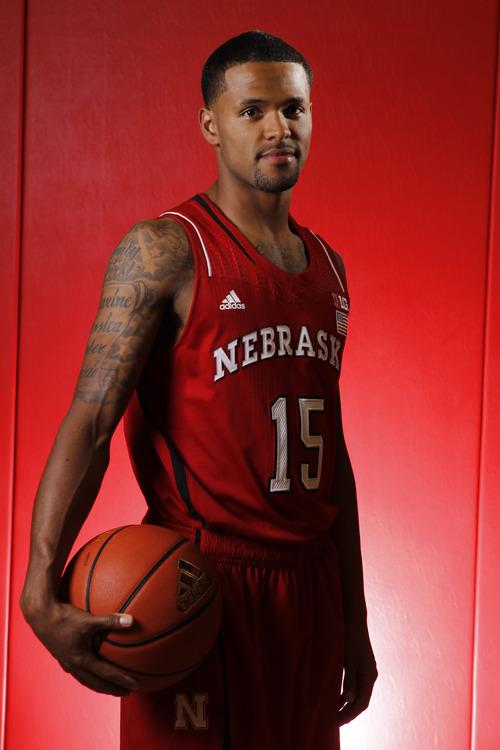 Courtesy | Scott Bruhn Nebraska basketball player Ray Gallegos.
