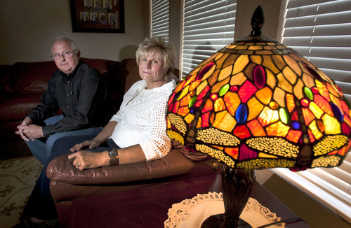 Steve Griffin  |  The Salt Lake Tribune Ken and Lyn McGuire, of Draper, started a support group, now affiliated with the LDS Church, for people who have lost family members to suicide. They lost their son Kourt to suicide.