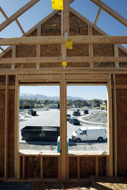 Francisco Kjolseth  |  The Salt Lake Tribune Ivory Homes, the biggest homebuilder in Utah continues its development of Stansbury Park with new properties nearing completion. Ivory Homes has completed 15,000 houses over the years. It's been the top homebuilder in the state for at least 23 years and it has been hugely influential in how homes in northern Utah look.
