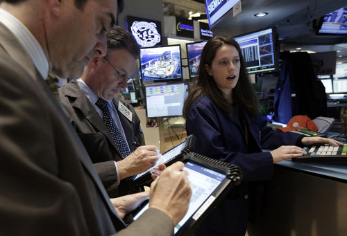 (AP Photo/Richard Drew) For the year so far, the Dow has climbed 17.2 percent, while the S&P 500 has gained 16.8 percent and the Nasdaq has advanced 15.9 percent.