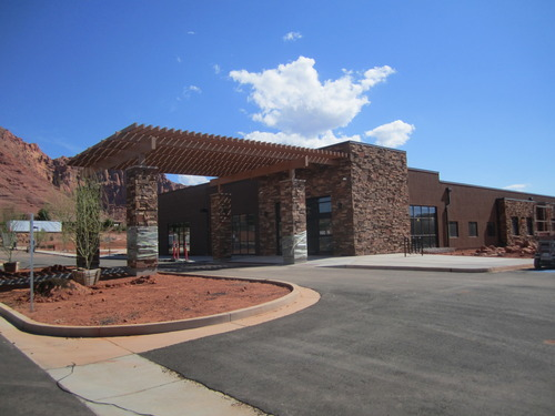 A new veterans nursing home in Ivins, to be managed by Avalon Health Care Group, will be dedicated Thursday. Photo courtesy Fuel Marketing