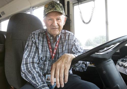 Paul Fraughton |  The Salt Lake Tribune Jim Platt, who drives a school bus for the Jordan School District, eats on about $4 a day.