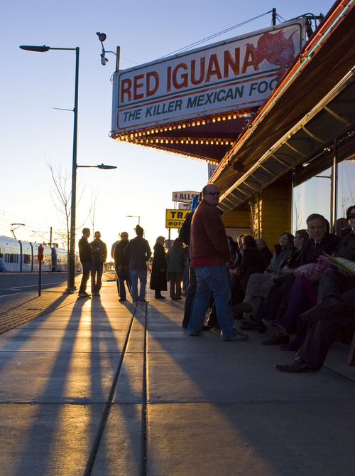 Keith Johnson | The Salt Lake Tribune Day or night, crowds are a staple at the popular Red Iguana restaurant location on North Temple in Salt Lake City. The company in 2011 generated $7.1 million in revenue and had a five-year growth rate of 17 percent.
