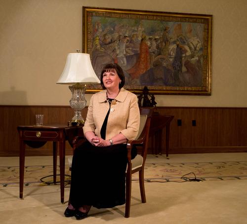 Trent Nelson  |  The Salt Lake Tribune Ann Monson Dibb speaks about her mother, Frances Monson, who passed away in Salt Lake City Friday May 17, 2013.
