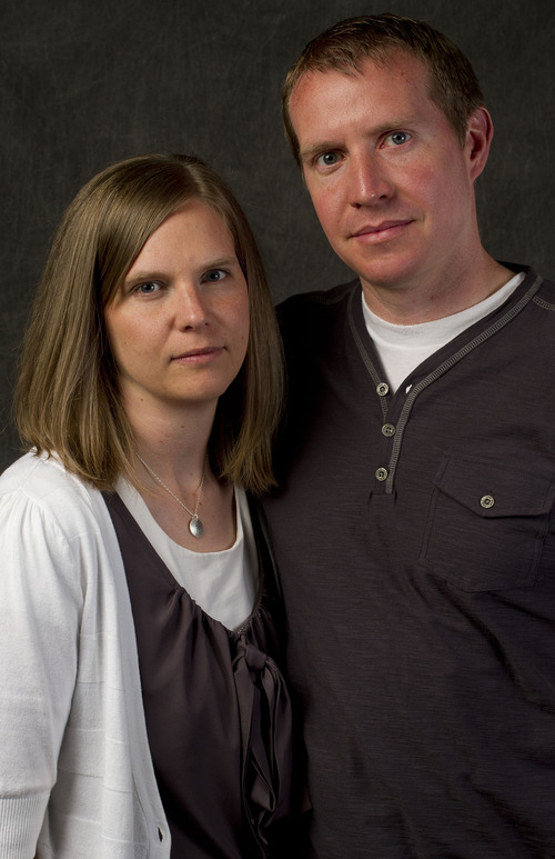 Jeremy Harmon     The Salt Lake Tribune  Alissa and Robbie Parker.  May 24, 2013
