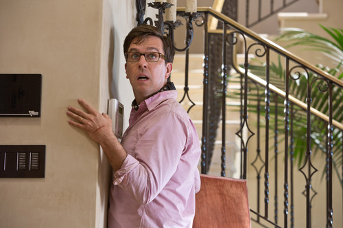 "This undated publicity photo shows Ed Helms as Stu in Warner Bros. Pictures' and Legendary Pictures' comedy ""The Hangover Part III,"" a Warner Bros. Pictures release. (AP Photo/Warner Bros. Pictures, Melinda Sue Gordon)"