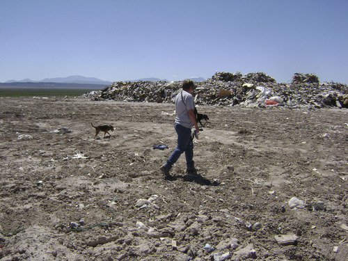 Searchers looking for missing mom Susan Cox Powell work through a landfill. Courtesy West Valley City Police Department