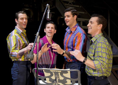 """""""Jersey Boys,"""" the Tony Award-winning """"jukebox musical"""" about The Four Seasons, plays June 4-16 at Salt Lake City's Capitol Theatre.  Credit: Jeremy Daniel"""