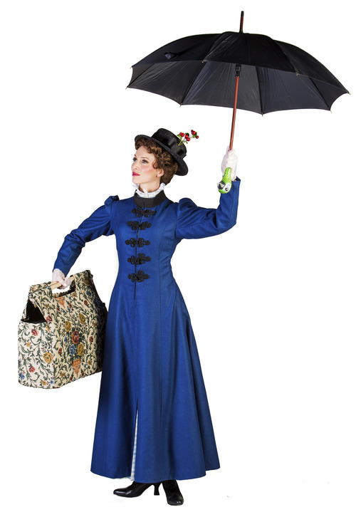 Gail Bennett as Mary Poppins. Courtesy image.