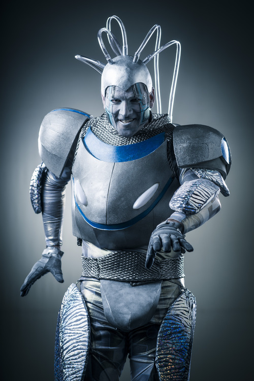 """Dustin Dubreuil as Electra from """"Starlight Express."""" Courtesy image"""