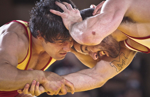 Wrestling has won at least a temporary reprieve and is on the short list of sports to be included in the 2020 Summer Olympic Games. (AP Photo/Bebeto Matthews)