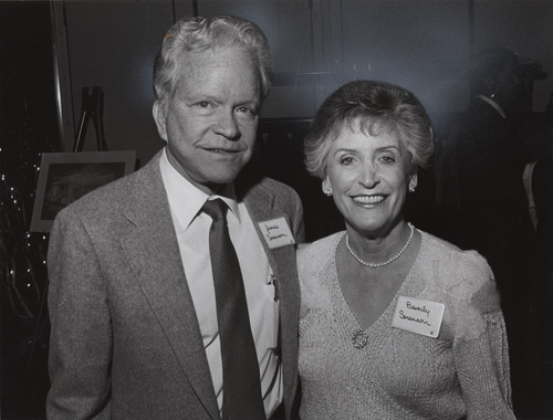 Tribune file photo  James and Beverly Sorenson are seen in this photo from 1989.
