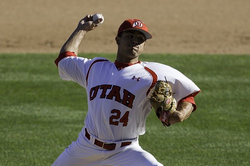 Courtesy | Utah sports information Dalton Carroll posted a 3.89 ERA in 16 appearances for the Utes this season.