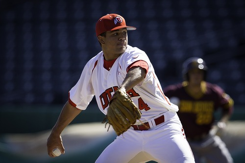 Courtesy of Utah sports information Dalton Carroll posted a 3.89 ERA in 16 appearances for the Utes this season.