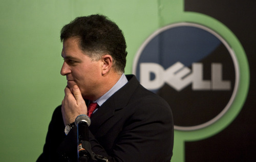 (AP Photo/Alexander F. Yuan, File) Michael Dell, chairman and CEO of Dell Inc., has been fighting off  rival offers to his bid for his namesake company.