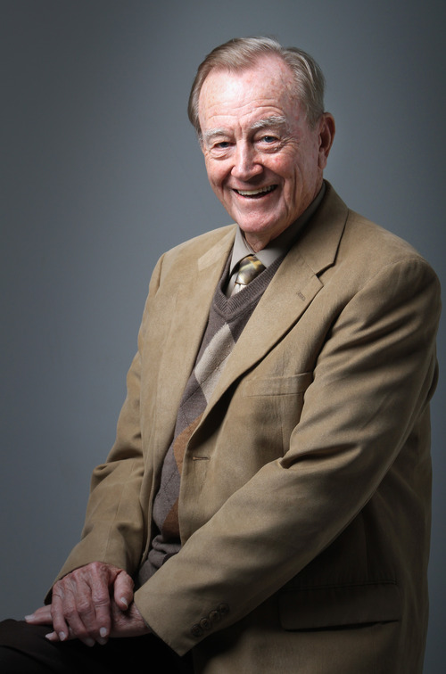 Rick Egan    The Salt Lake Tribune Clyde Wagnon is a 93-year-old student at Stevens-Henager College set to graduate with a master's degree in business administration on Saturday.