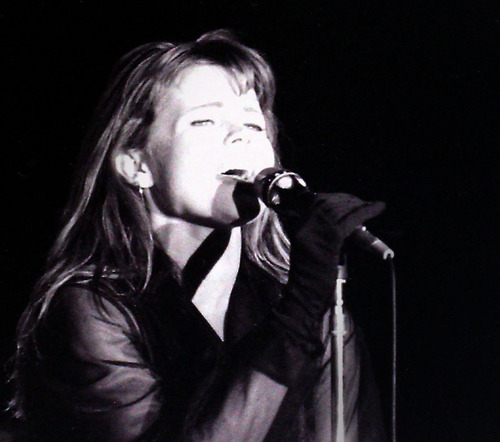 Rick Egan  | The Salt Lake Tribune   Belinda Carlisle performs at the Triad Amphitheatre, August 9, 1988.
