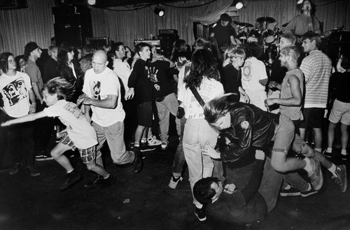 Rick Egan  | The Salt Lake Tribune   The Stench, Speeedway Cafe, 1987