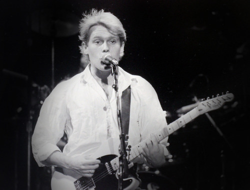 Rick Egan  | The Salt Lake Tribune   Dave Wakeling, General Public, Kingsbury Hall, November, 1984.