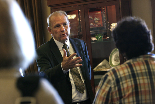 Scott Sommerdorf  |  Tribune file photo Former Utah Budget Director Ron Bigelow is running for West Valley City mayor.