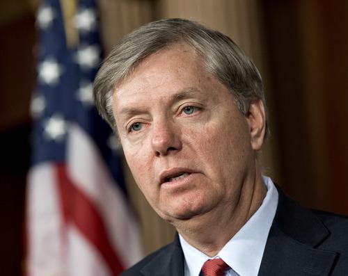 File -- Sen. Lindsey Graham, R-S.C. (AP Photo/J. Scott Applewhite)