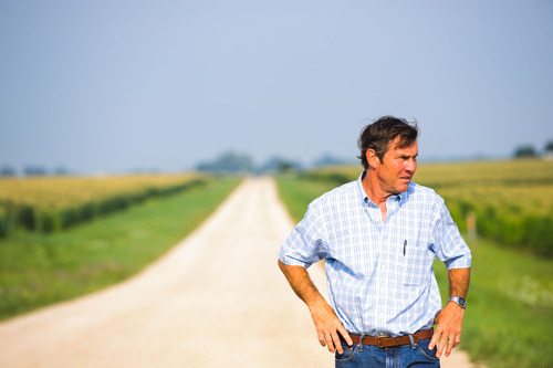 "Dennis Quaid plays Henry Whipple, a farmer in crisis, in the drama ""At Any Price."" Hooman Bahrani  