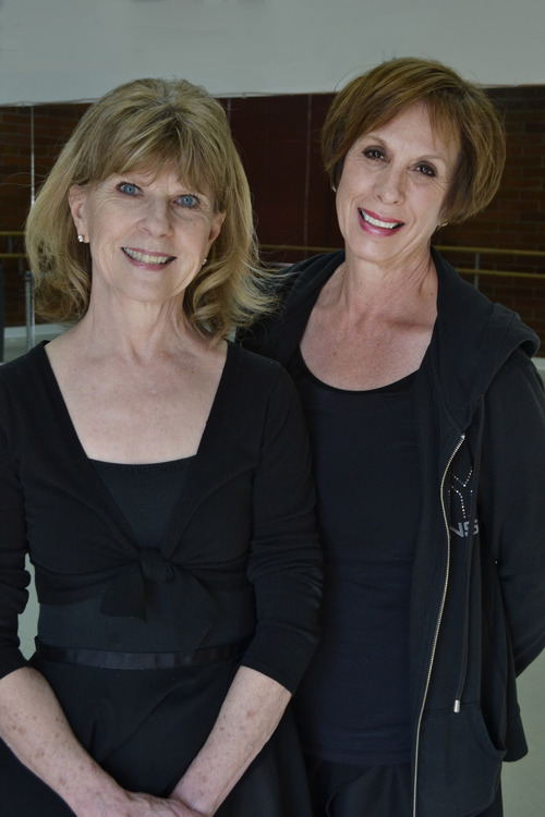 Courtesy of Megan Ware Sandra Swenson, left, and Catherine Ostroski founded the Bountiful School of Ballet 40 years ago.