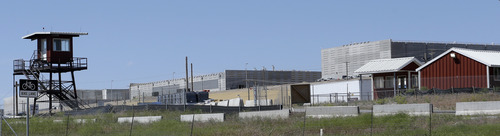 """Ground lever view of Utah's NSA Data Center in Bluffdale, Utah, Friday, June 7, 2013. President Barack Obama vigorously defended sweeping secret surveillance into America's phone records and foreigners' Internet use, declaring """"we have to make choices as a society."""" It was revealed late Wednesday that the National Security Agency has been collecting the phone records of hundreds of millions of U.S. phone customers.  (AP Photo/Rick Bowmer)"""